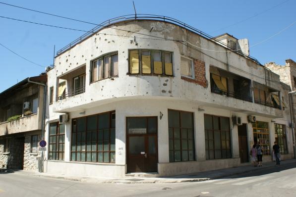 Mostar - ślady po wojnie