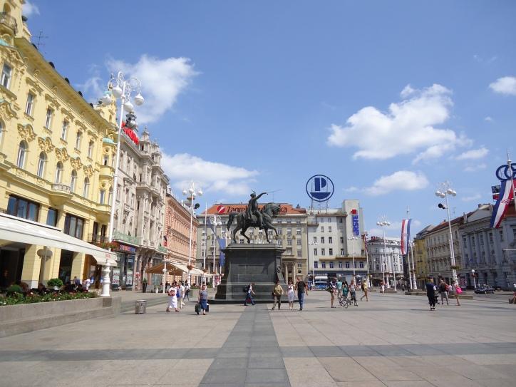 Głowny plac - Zagreb