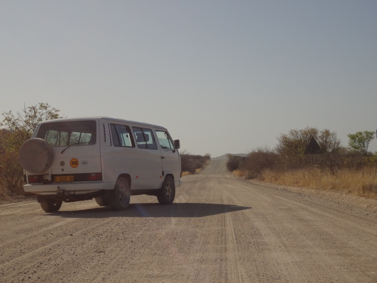 mój wspanialy VW bus - zaliczyłem tylko jednego kapcia