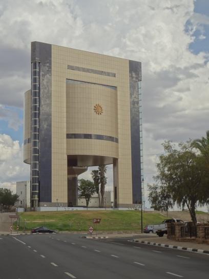 architektura w stolicy czyli w Windhoek