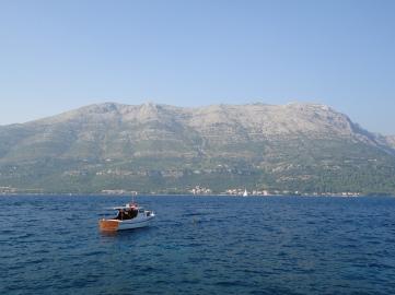 widok na Gory - Korčula