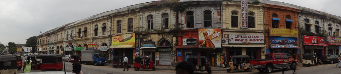 fasada budynków (Colombo)