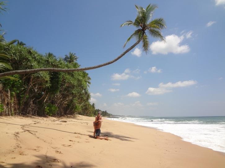 Tangalle - plaża