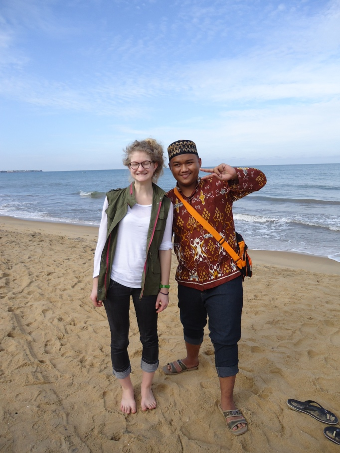 pierwsze godziny na wyspie: Natalia jako atrakcja turystyczna