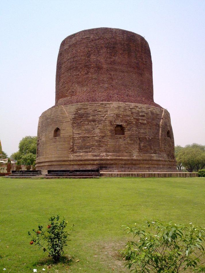 Okolice Varanasi-Dhamekh stupa