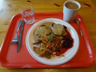 Obiad z łosia