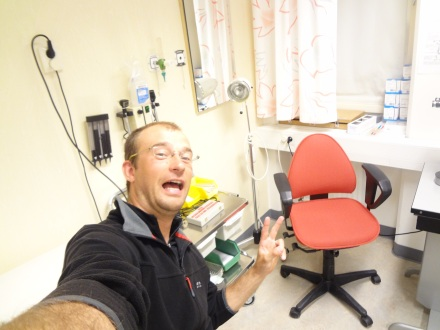 Zapalenie śluzówki ścięgna :-)