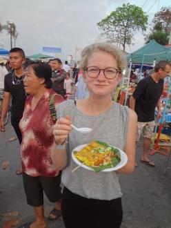Street Food/nocny market z pysznym jedzeniem - Prachuap