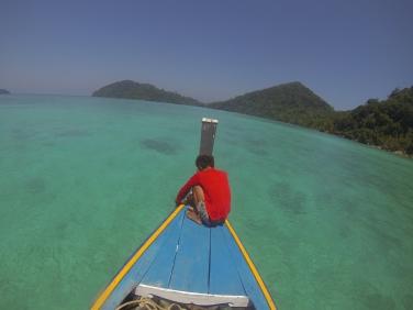 Longtail-boat - Mu Ko Surin