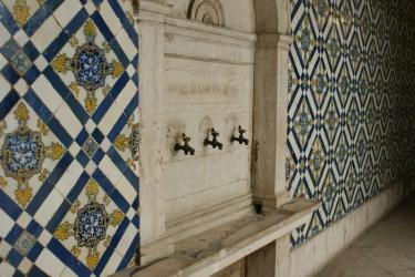 Azulejos w muzeum