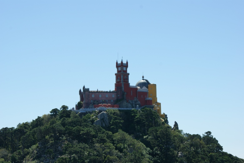 widok na Palácio da Pena