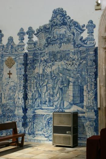 Coimbra - Igreja de Santa Cruz - wewnątrz