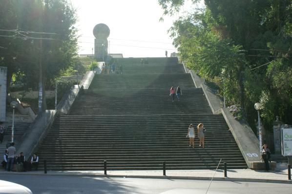 Coimbra - schody do wiedzy