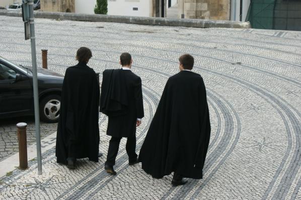 Coimbra - studenci