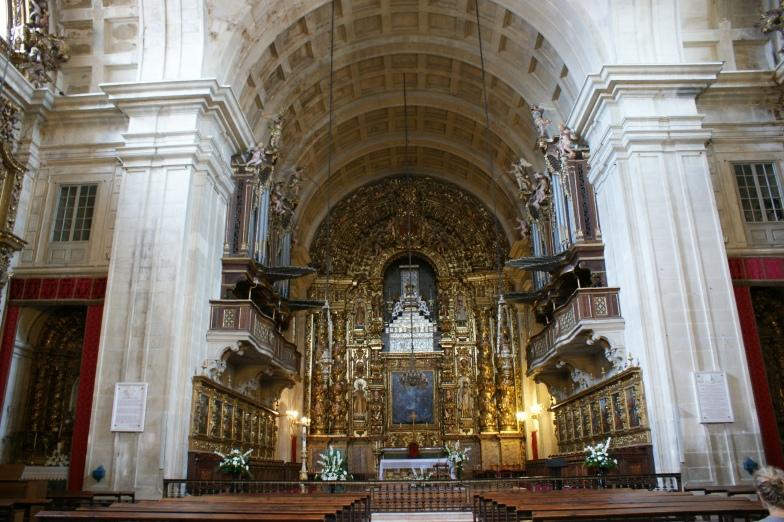 Coimbra - Sé Nova - wewnątrz