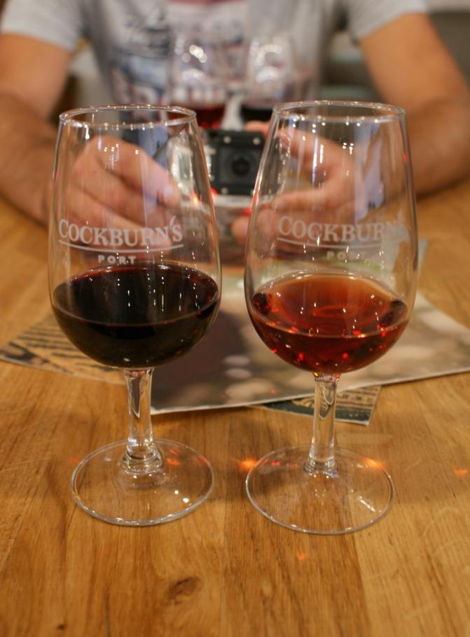"""degustacja Porto ruby w """"Cockburn's""""i tawny"""