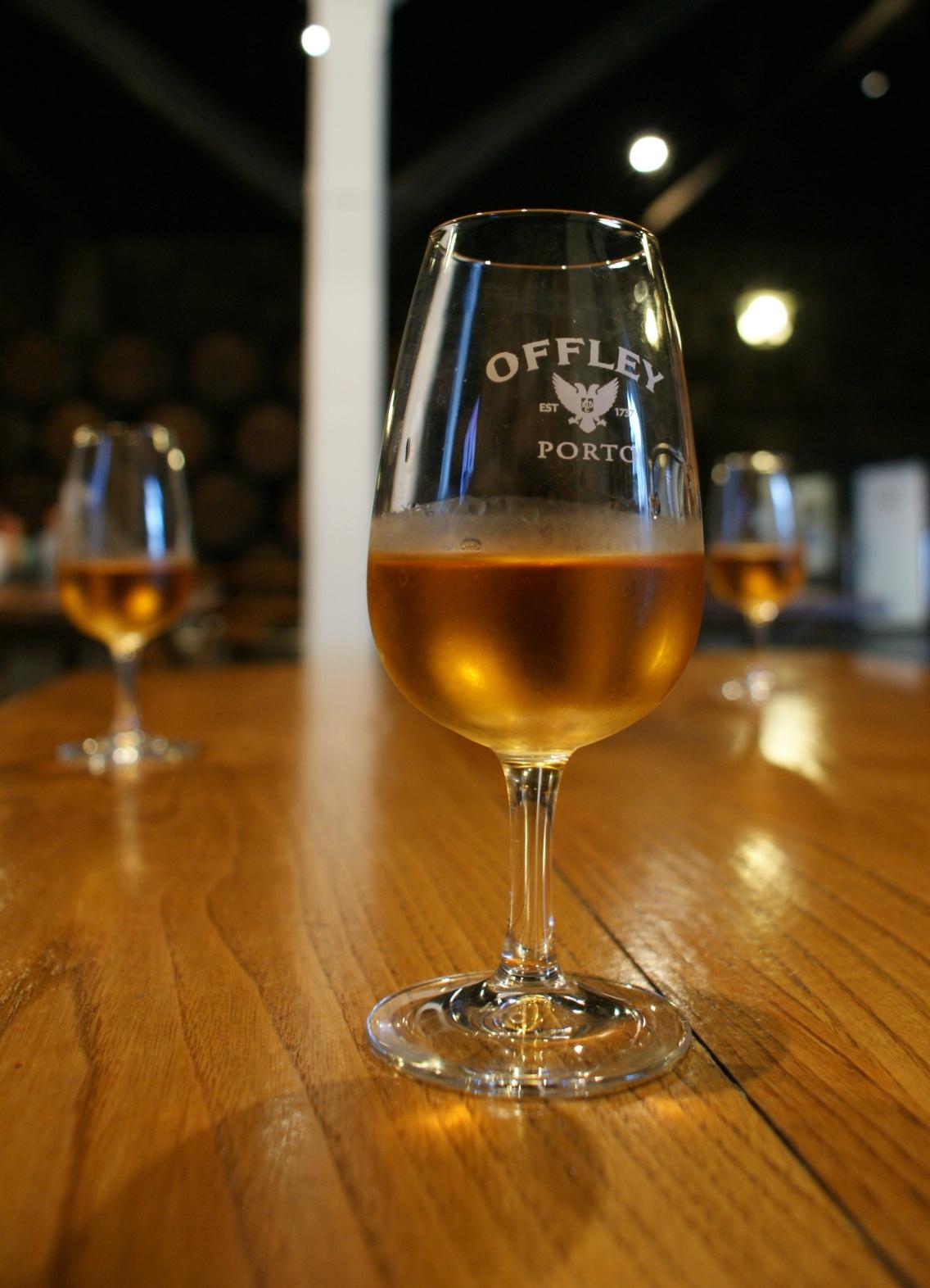"""degustacja białego Porto w winiarni """"Offley"""""""