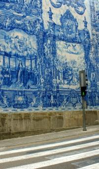 fragment ściany zewnętrznej: Capela das Almas
